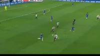 Branislav Ivanovic scores in the match Chelsea vs Brentford