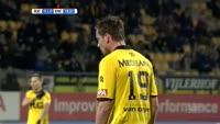 Dani Schahin scores in the match Roda vs Excelsior