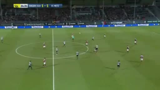 Angers Metz goals and highlights