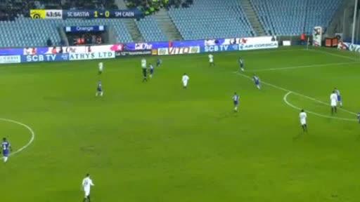 CA Bastia Caen goals and highlights