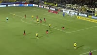 Athanasios Papazoglou scores in the match Roda vs Excelsior
