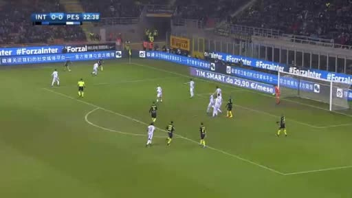 Inter Pescara goals and highlights