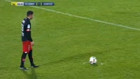 Jordan Loties scores in the match Lorient vs Dijon