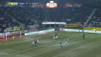 Malcom Filipe Silva de Oliveira scores in the match Nancy vs Bordeaux
