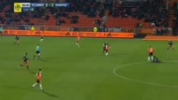 Pierre Lees Melou scores in the match Lorient vs Dijon