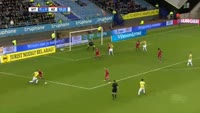 Lewis Baker scores in the match Vitesse vs AZ Alkmaar
