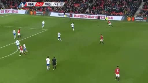 Manchester United Wigan goals and highlights