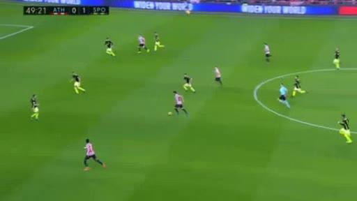 Ath. Bilbao Gijon goals and highlights