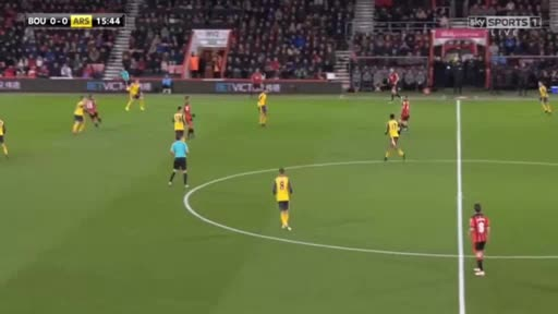 Bournemouth Arsenal goals and highlights