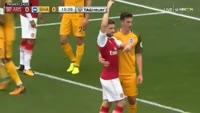 Arsenal 2-0 Brighton & Hove Albion - Golo de Nacho Monreal (16min)