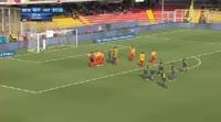 Benevento 1-2 Internazionale - Golo de M. Brozović (22min)