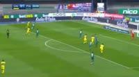Chievo 2-1 Fiorentina - Golo de L. Castro (25min)