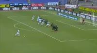 Lazio 6-1 Sassuolo - Golo de Luis Alberto (45+1min)