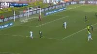 Lazio 6-1 Sassuolo - Golo de C. Immobile (81min)