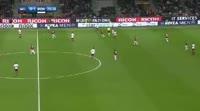 Milan 0-2 Roma - Golo de A. Florenzi (77min)