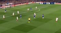 Chelsea 3-3 Roma - Golo de David Luiz (11min)