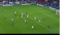 Barcelona 3-1 Olympiakos Piraeus - Golo de D. Nikolaou (18min)