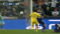 Anderlecht 0-4 PSG - Golo de E. Cavani (44min)