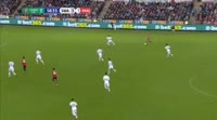 Jesse Lingard scores in the match Swansea vs Manchester United