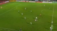 Marius Wolf scores in the match 1. FC Schweinfurt vs Eintracht Frankfurt