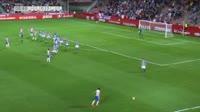 Darwin Machis scores in the match Granada CF vs Lorca FC