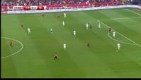 Birkir Bjarnason scores in the match Turkey vs Iceland