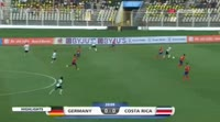 Jann-Fiete Arp scores in the match Germany U17 vs Costa Rica U17
