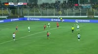 Noah Awuku scores in the match Germany U17 vs Costa Rica U17