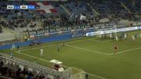 Danilo Soddimo scores in the match Novara vs Frosinone