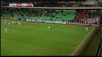 Louis Schaub scores in the match Moldova vs Austria