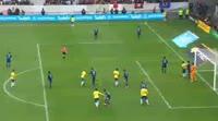 Marcelo scores in the match Japan vs Brazil
