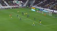 Gabriel Fernando de Jesus scores in the match Japan vs Brazil