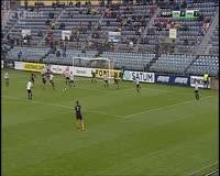 Vaclav Jurecka scores in the match Opava vs Hradec Kralove