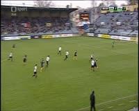 David Puskac scores in the match Opava vs Hradec Kralove