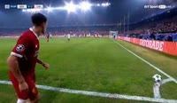 Sevilla 3-3 Liverpool - Golo de Roberto Firmino (30min)