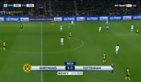 Borussia Dortmund 1-2 Tottenham Hotspur - Golo de P. Aubameyang (31min)