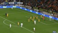 APOEL vs Real Madrid - Goal by Nacho (41')