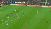 Mohamed Salah scores in the match Liverpool vs Everton