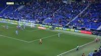 David Timor scores in the match Espanyol vs Girona