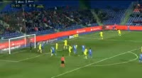 Juan Torres Ruiz scores in the match Getafe vs UD Las Palmas