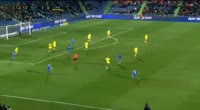 Amath Diedhiou scores in the match Getafe vs UD Las Palmas