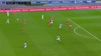 Igor Zubeldia Elorza scores in the match Real Sociedad vs Sevilla