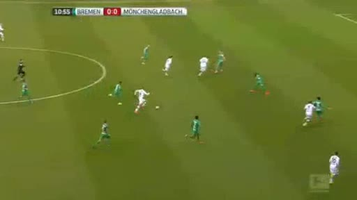 Werder Bremen Borussia Moenchengladbach goals and highlights