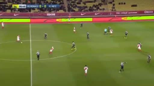 Monaco Metz goals and highlights