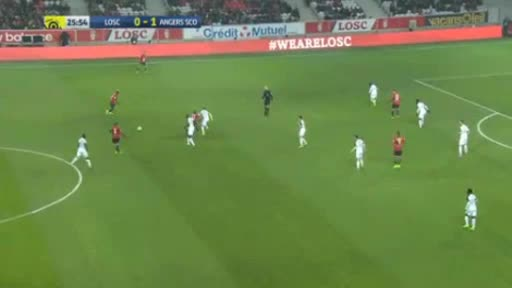 Lille Angers goals and highlights