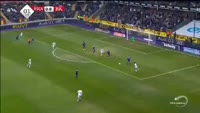 M'Baye Leye scores in the match Anderlecht vs Waregem