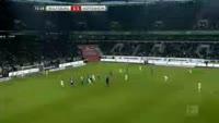 Daniel Didavi scores in the match Wolfsburg vs Hoffenheim