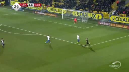 Lokeren Club Brugge goals and highlights