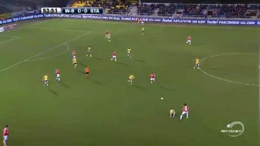 Waasland Standard Liege goals and highlights