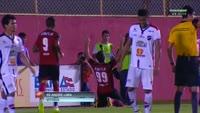 Jesus Alberto Datolo scores in the match Vitoria vs CE Flamengo